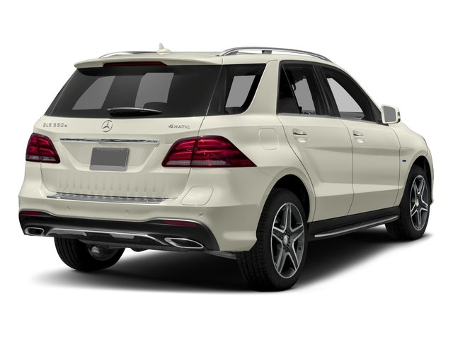 2018 Mercedes-Benz GLE Base Price GLE 550e 4MATIC SUV Pricing side rear view