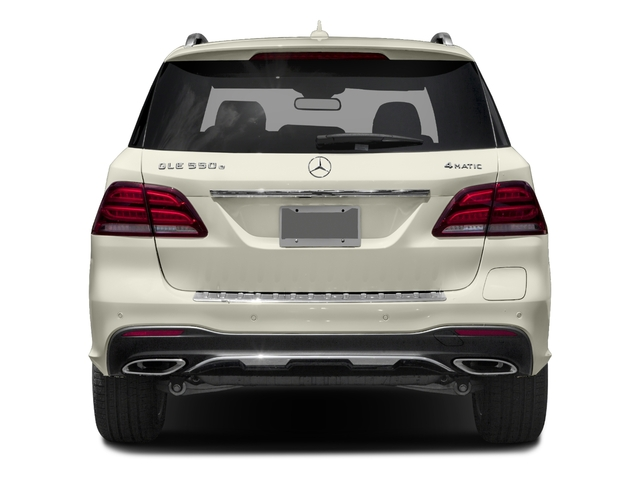 2018 Mercedes-Benz GLE Pictures GLE GLE 550e 4MATIC SUV photos rear view