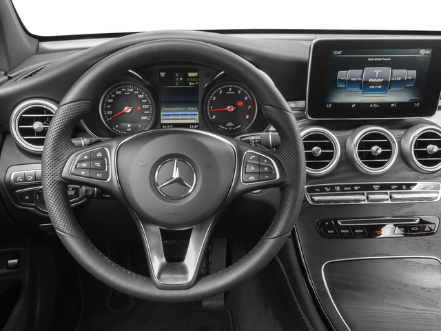 2018 Mercedes-Benz GLC Base Price GLC 350e 4MATIC SUV Pricing driver's dashboard