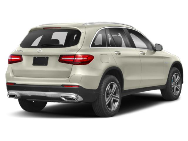 2018 Mercedes-Benz GLC Base Price GLC 350e 4MATIC SUV Pricing side rear view