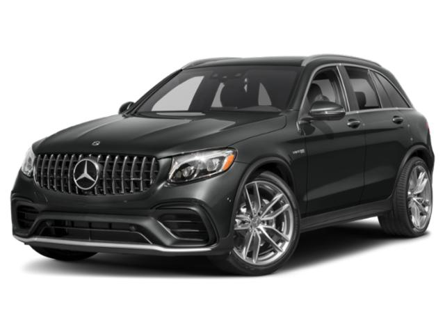 2018 Mercedes-Benz GLC Pictures GLC AMG GLC 63 4MATIC SUV photos side front view