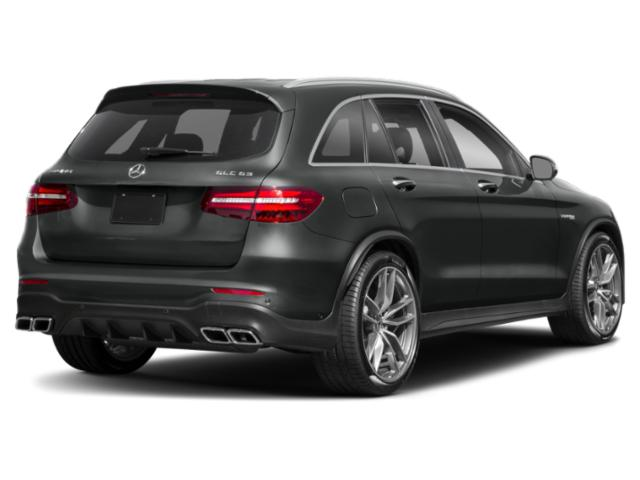 2018 Mercedes-Benz GLC Pictures GLC AMG GLC 63 4MATIC SUV photos side rear view