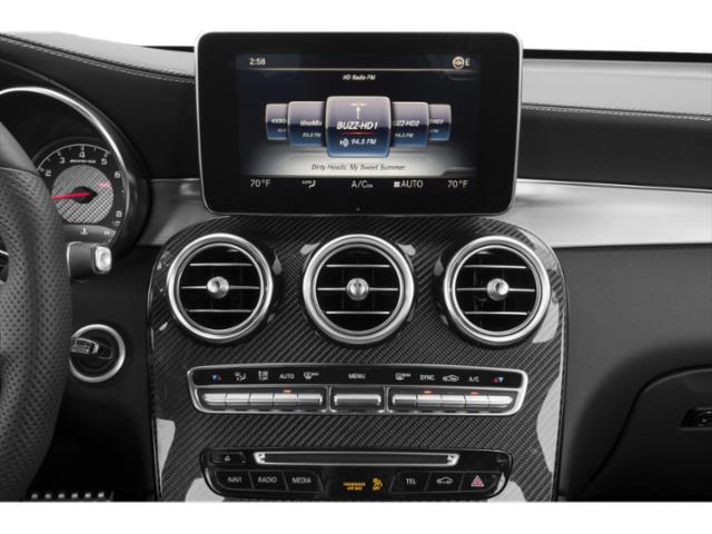 2018 Mercedes-Benz GLC Base Price AMG GLC 63 4MATIC SUV Pricing stereo system