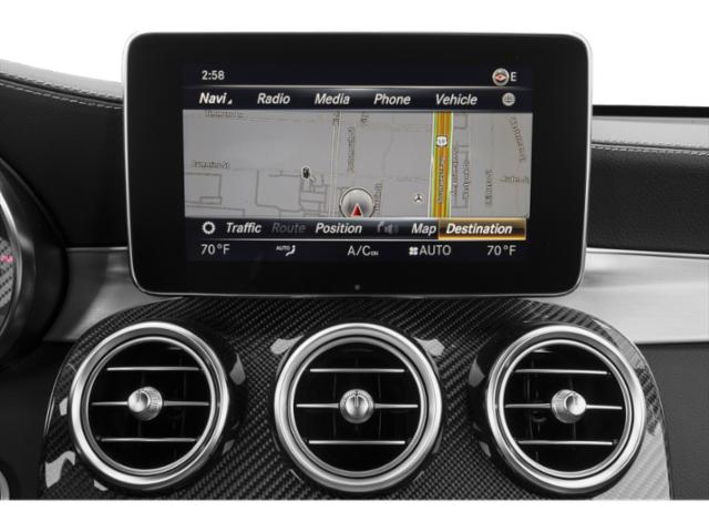 2018 Mercedes-Benz GLC Pictures GLC AMG GLC 63 4MATIC SUV photos navigation system
