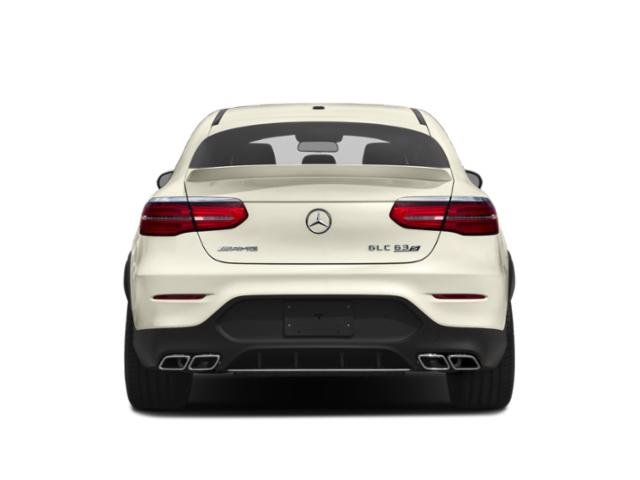 2018 Mercedes-Benz GLC Base Price AMG GLC 63 S 4MATIC Coupe Pricing rear view