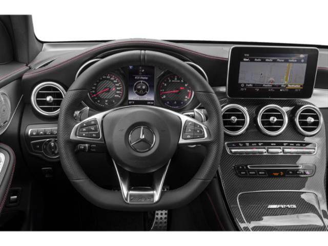 2018 Mercedes-Benz GLC Base Price AMG GLC 63 S 4MATIC Coupe Pricing driver's dashboard