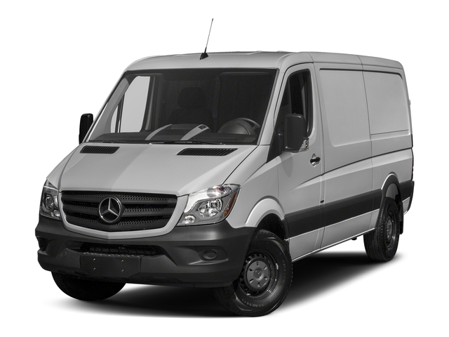 2018 Mercedes-Benz Sprinter Cargo Van Base Price 2500 Standard Roof V6 144 Worker RWD Pricing side front view