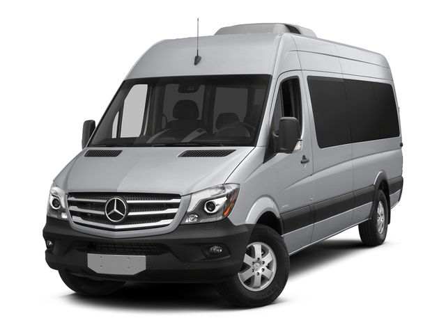 2018 Mercedes-Benz Sprinter Passenger Van Base Price 2500 High Roof V6 170 RWD Pricing side front view