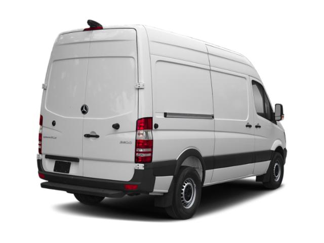 2018 Mercedes-Benz Sprinter Cargo Van Base Price 2500 High Roof V6 170 RWD Pricing side rear view