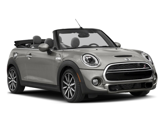 2018 MINI Convertible Pictures Convertible Cooper S FWD photos side front view