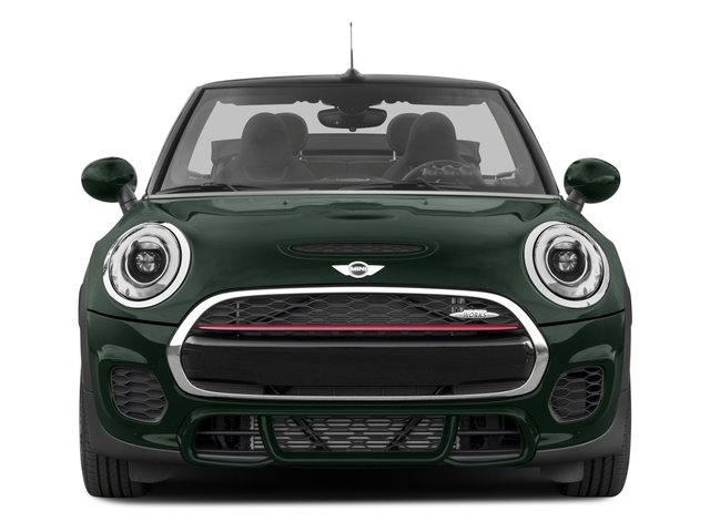 2018 MINI Convertible Pictures Convertible Convertible 2D JCW I4 Turbo photos front view