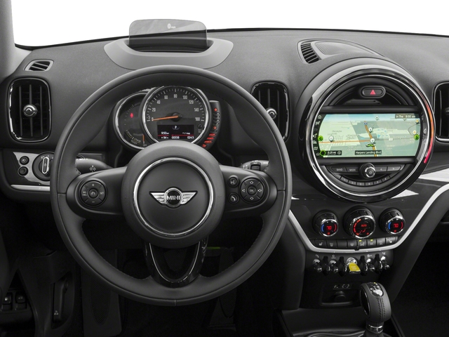 2018 MINI Countryman Base Price Cooper S E ALL4 Pricing driver's dashboard