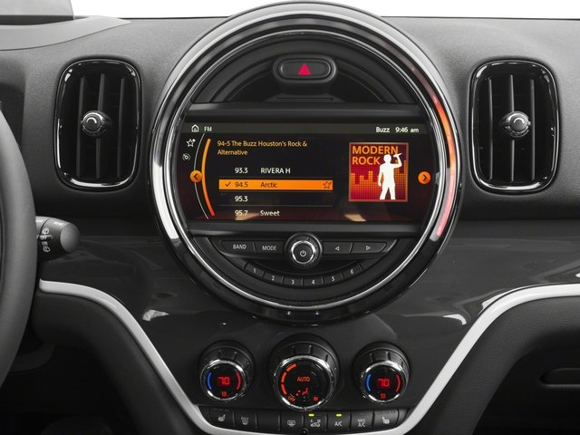 2018 MINI Countryman Base Price Cooper S E ALL4 Pricing stereo system