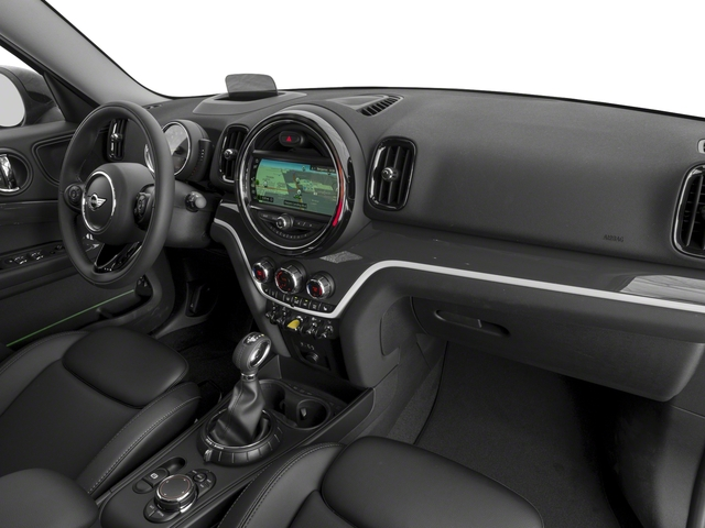 2018 MINI Countryman Base Price Cooper S E ALL4 Pricing passenger's dashboard