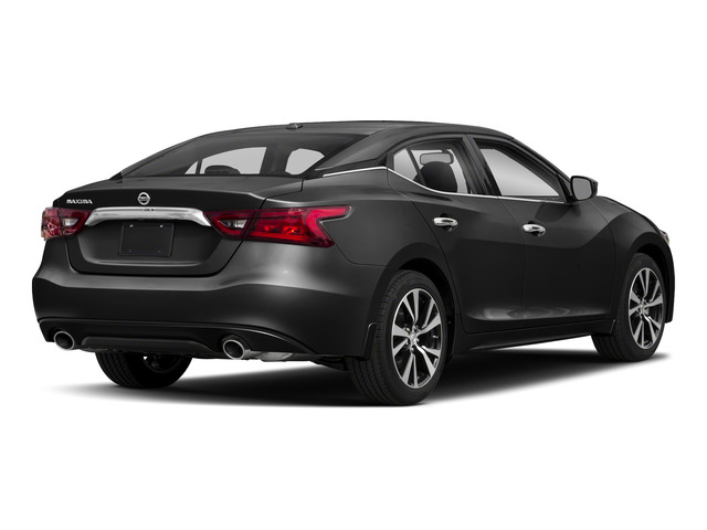 2018 Nissan Maxima Pictures Maxima S 3.5L photos side rear view