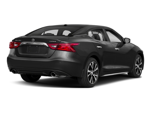 2018 Nissan Maxima Pictures Maxima Platinum 3.5L photos side rear view