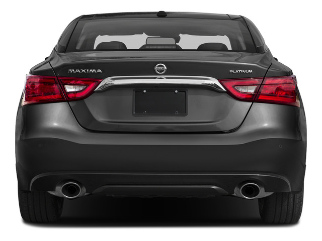 2018 Nissan Maxima Pictures Maxima Platinum 3.5L photos rear view