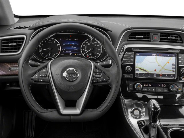 2018 Nissan Maxima Pictures Maxima Platinum 3.5L photos driver's dashboard
