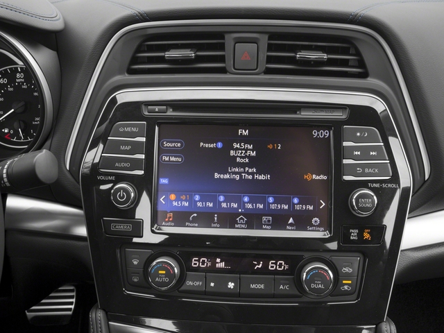2018 Nissan Maxima Base Price SR 3.5L Pricing stereo system