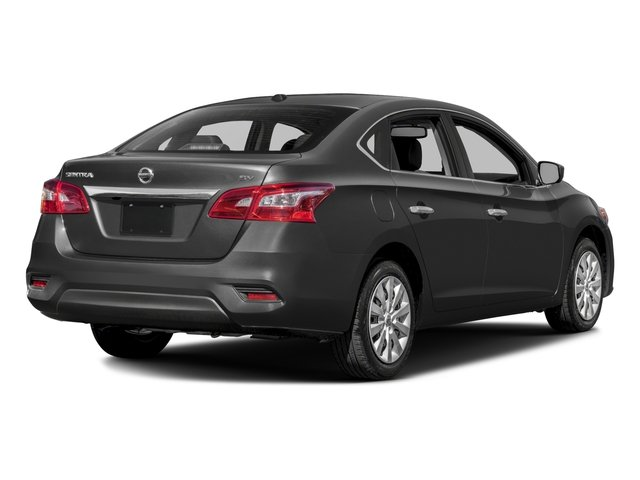 2018 Nissan Sentra Pictures Sentra S CVT photos side rear view
