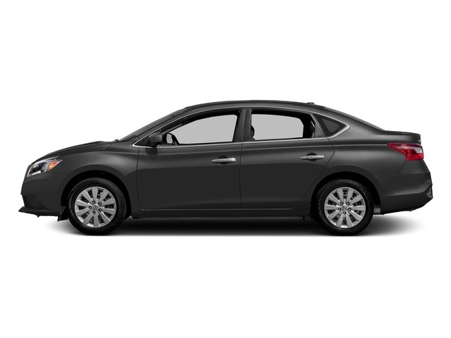 2018 Nissan Sentra Pictures Sentra S CVT photos side view