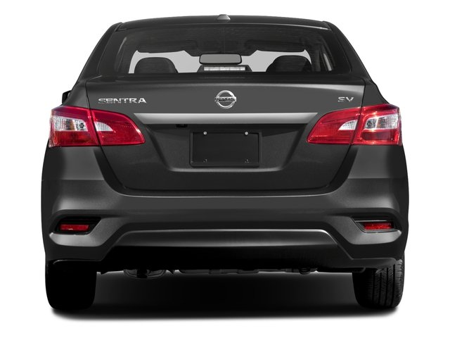 2018 Nissan Sentra Pictures Sentra S CVT photos rear view