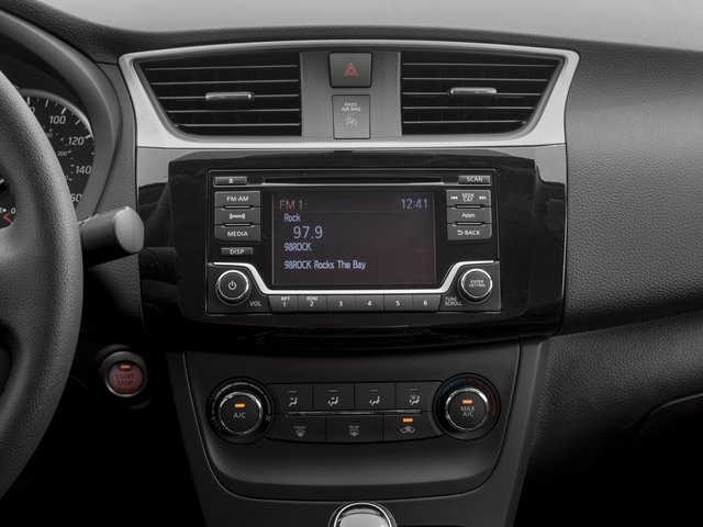 2018 Nissan Sentra Pictures Sentra S CVT photos stereo system