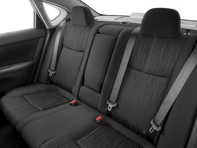 2018 Nissan Sentra Pictures Sentra S CVT photos backseat interior