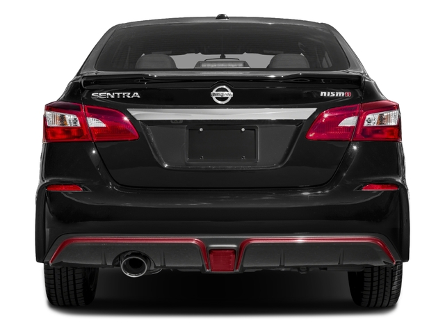 2018 Nissan Sentra Base Price NISMO CVT Pricing rear view