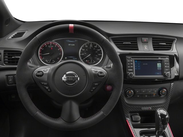2018 Nissan Sentra Base Price NISMO CVT Pricing driver's dashboard