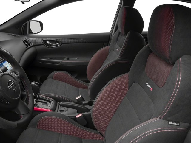 2018 Nissan Sentra Base Price NISMO CVT Pricing front seat interior
