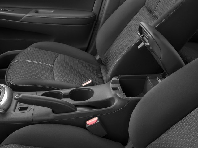 2018 Nissan Sentra Base Price SR CVT Pricing center storage console