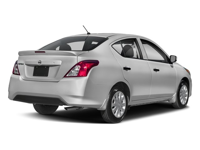 2018 Nissan Versa Sedan Base Price S Plus CVT Pricing side rear view