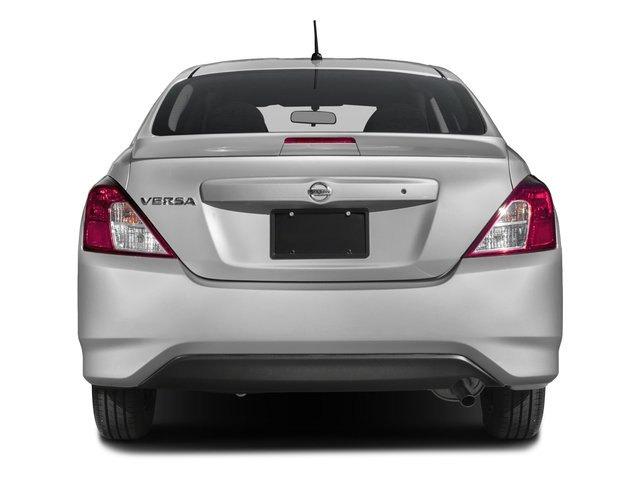 2018 Nissan Versa Sedan Prices and Values Sedan 4D SV Special Edition rear view