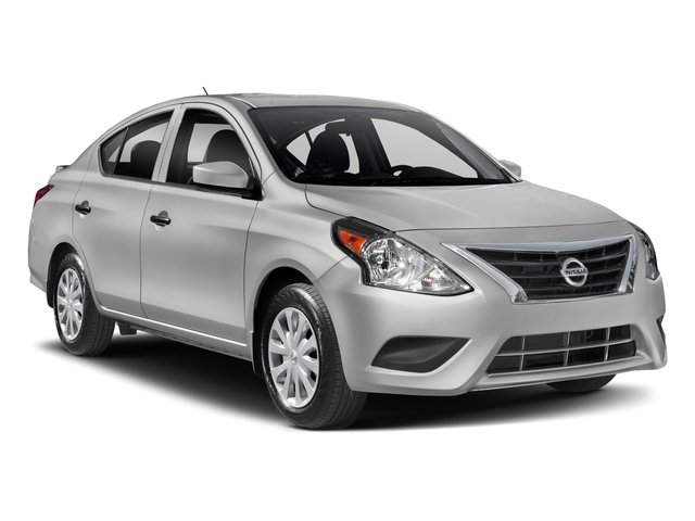 2018 Nissan Versa Sedan Base Price S Plus CVT Pricing side front view