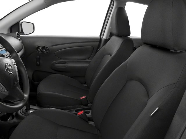 2018 Nissan Versa Sedan Base Price S Plus CVT Pricing front seat interior