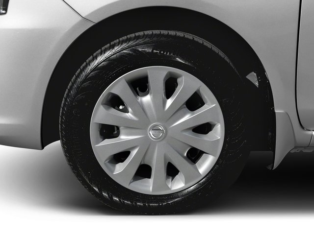 2018 Nissan Versa Sedan Prices and Values Sedan 4D SV Special Edition wheel