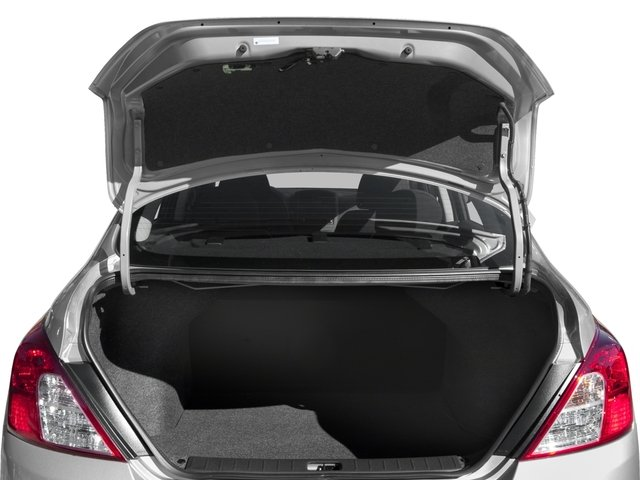 2018 Nissan Versa Sedan Prices and Values Sedan 4D SV Special Edition open trunk