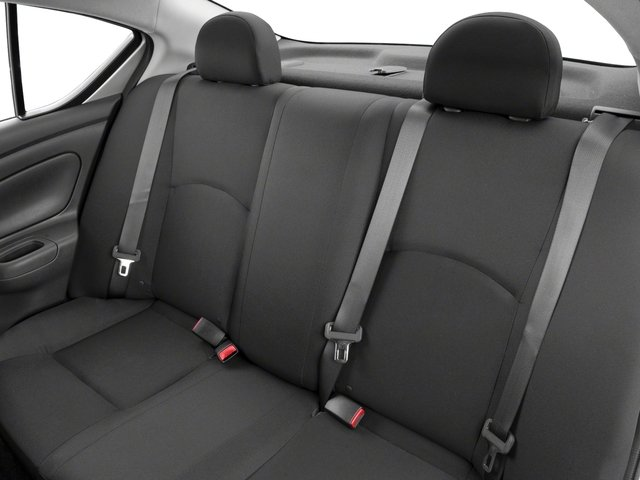 2018 Nissan Versa Sedan Prices and Values Sedan 4D SV Special Edition backseat interior