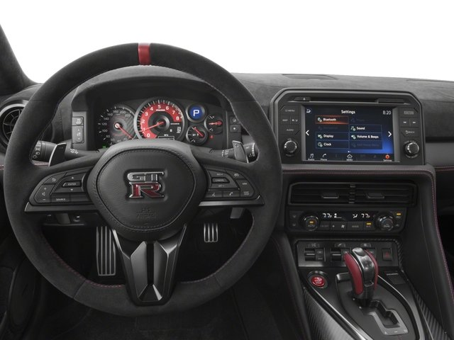 2018 Nissan GT-R Base Price NISMO AWD Pricing driver's dashboard