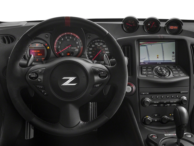 2018 Nissan 370Z Coupe Pictures 370Z Coupe NISMO Auto photos driver's dashboard