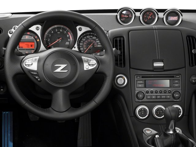 2018 Nissan 370Z Coupe Base Price Auto Pricing driver's dashboard