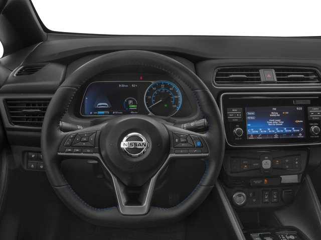 2018 Nissan LEAF Prices and Values Hatchback 5D S Electric driver's dashboard