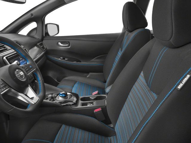 2018 Nissan LEAF Prices and Values Hatchback 5D S Electric front seat interior