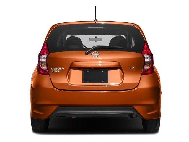 2018 Nissan Versa Note Pictures Versa Note 2018.5 SV CVT photos rear view