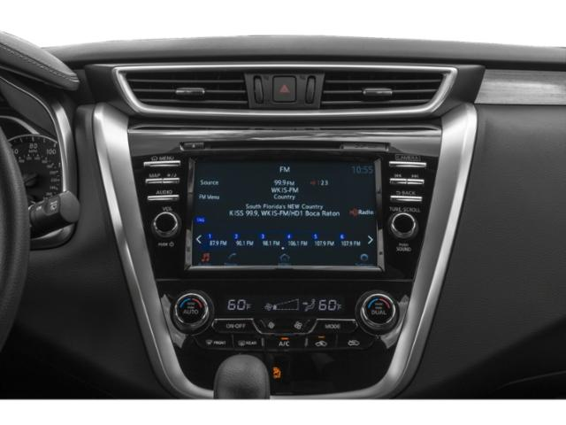 2018 Nissan Murano Base Price FWD SV Pricing stereo system