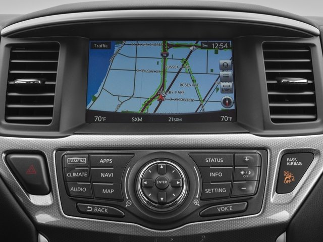 2018 Nissan Pathfinder Pictures Pathfinder FWD SV photos navigation system