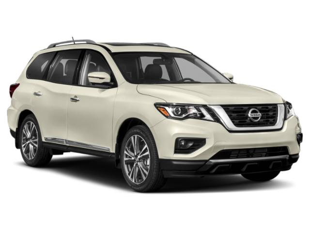 2018 Nissan Pathfinder Pictures Pathfinder 4x4 S photos side front view