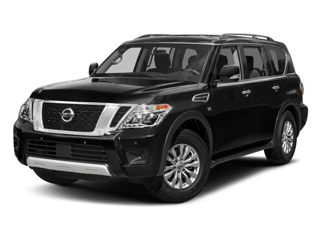 2018 Nissan Armada Pictures Armada 4x4 SV photos side front view