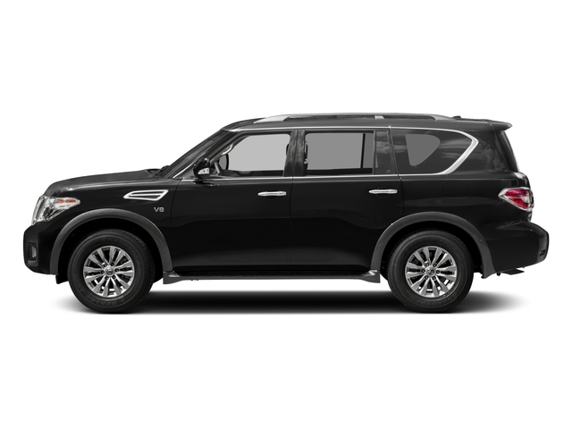 2018 Nissan Armada Pictures Armada 4x4 SV photos side view